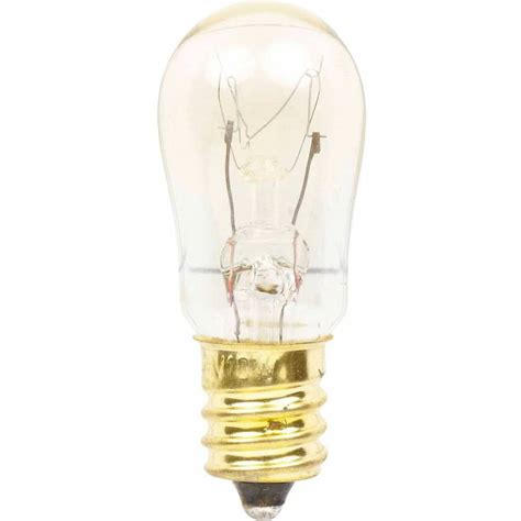 ge light bulb small in base 120 volt 10 watt bulb