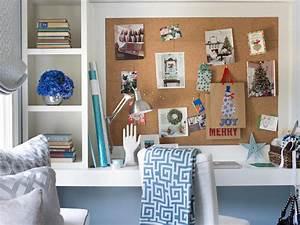 Shelving Unit on Desk - Transitional - Bedroom