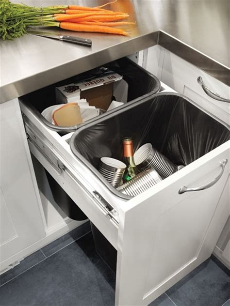 Pull Out Storage Bins Design Ideas