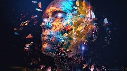 Abstract Digital Deviantart Face Desktop Wallpapers Background