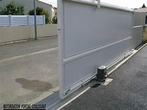 Moteur De Portail Coulissant : motorisation portail coulissant ~ Dailycaller-alerts.com Idées de Décoration