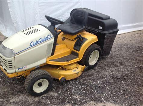 Used Mower Decks Cub Cadet by Cub Cadet 2186 Lawn Mower 44 Quot Deck W Grass Bagger Used