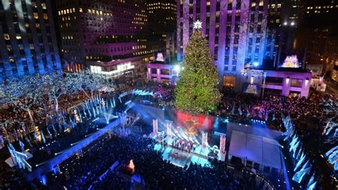 when is the rockefeller center tree lighting