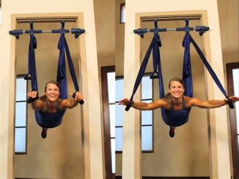 Hammock Swing With Stand by Aerial Yoga Swing And Frame Youtube