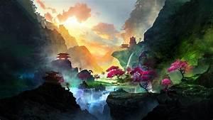 1920x1080, Alone, In, Beautiful, Waterfall, Landscape, 1080p