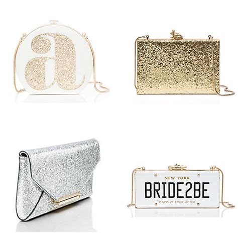 kate spade bridal clutch   asia wedding network