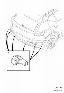 2019 Volvo Xc40 Parking Aid Sensor - 32209358