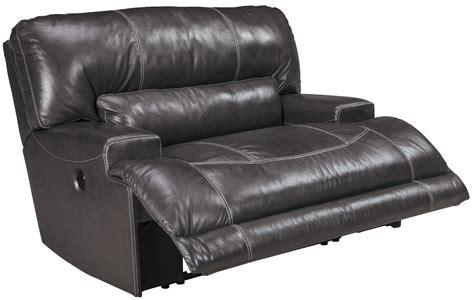 wide seat recliner mccaskill gray wide seat power recliner u6090082