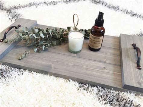 Rustic Wooden Tray, Wooden Tray, Rustic Decor, Farmhouse