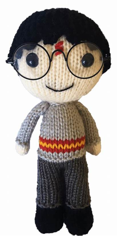 Potter Harry Pattern Knitted Knitting Toy Daisy