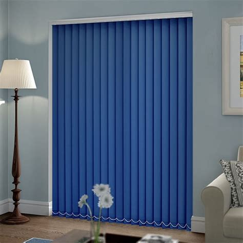 welwyn royal blue vertical blind