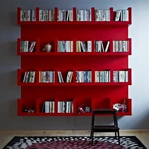 Etagere Murale Rouge : etagere murale rouge 3 id es de d coration int rieure french decor ~ Teatrodelosmanantiales.com Idées de Décoration