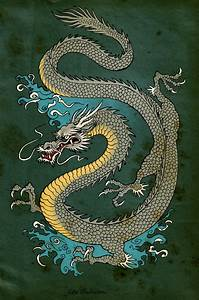 Japanese+Dragon+Art | Japanese Dragon by ...