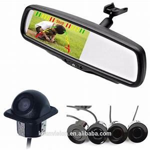 Koen 4 3 U0026 39  Espelho Retrovisor Monitor Con Camara De