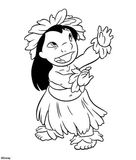 Lilo y stitch para colorear Imagui