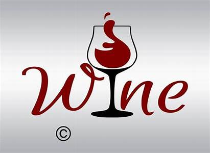 Wine Svg Glass Word Clipart Silhouette Cut
