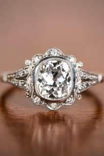 vintage engagement rings best 25 vintage engagement rings ideas on