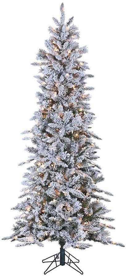White Flocked Pre Lit Christmas Tree by 9 Best Images About The Best Artificial Christmas Trees On