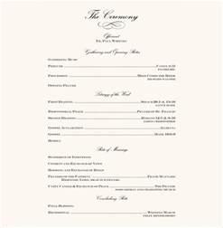 wedding reception program 7 wedding reception program templates psd vector eps ai illustrator free