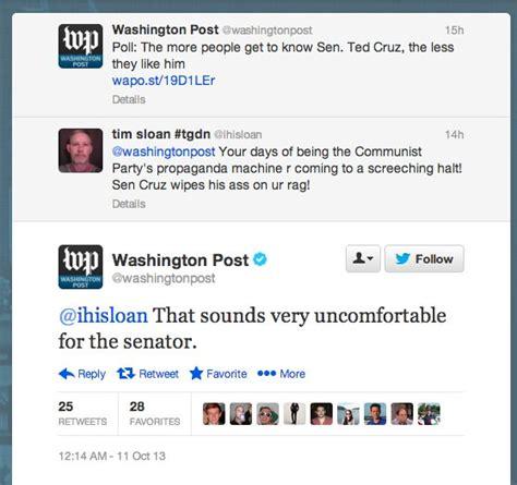 Washington Post Has Best Twitter Comeback Ever Huffpost