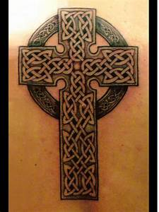 Celtic Cross With Banners Tattoos | www.imgkid.com - The ...