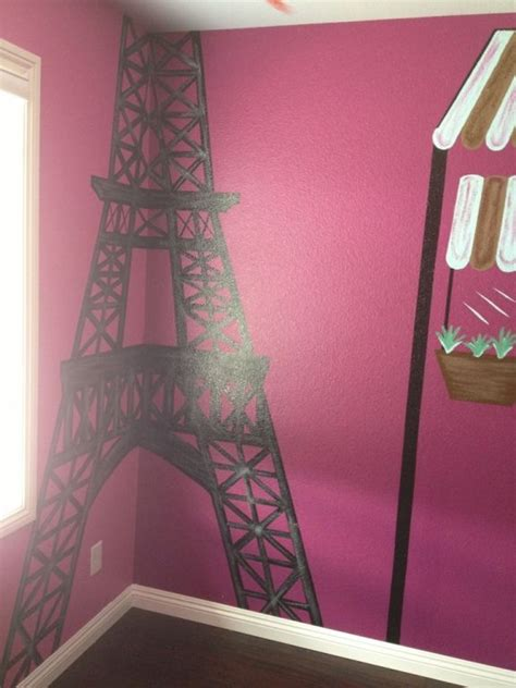 paris themed litle girls room room stuff paris room