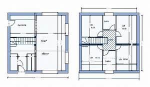 plan de maison rectangulaire avec etage With plan de maison avec etage gratuit