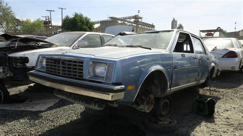 junkyard find  buick skylark limited