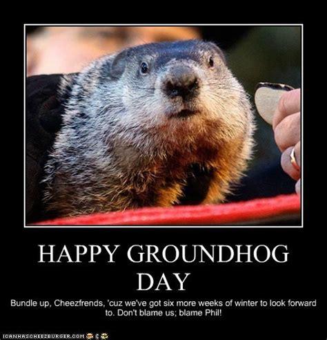 Groundhog Meme - speak of the devil attack of the groundhogs