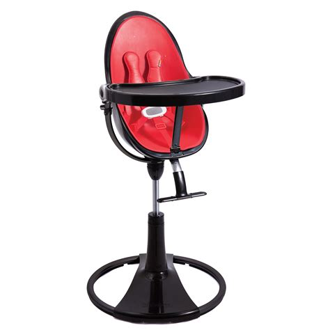 chaise haute fresco bloom bloom fresco black chrome baby high chair seat