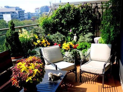 Balkon Garten by Balcony Container Gardening In Toronto Historic Toronto