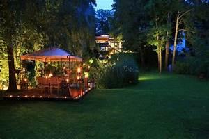 Beleuchtung im garten planen innenraume und mobel ideen for Garten planen mit pflanzkübel holzoptik