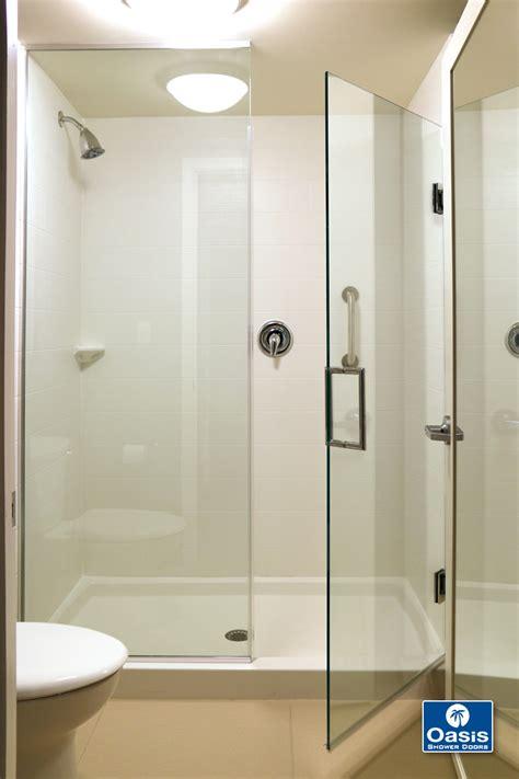 shower glass door frameless glass shower spray panel oasis shower doors ma
