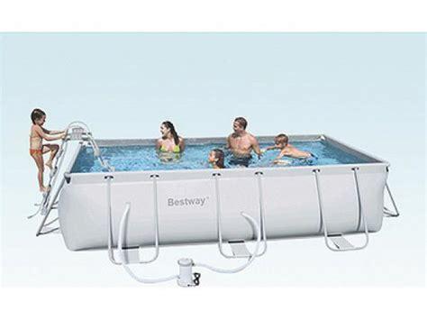 bestway pool rechteckig aufbauanleitung bestway pool rechteckig aufbauanleitung bestway set frame pool power steel 549x274x122 cm