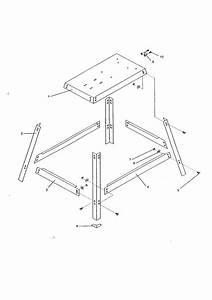12 U0026quot  Band Saw Leg Stand Diagram  U0026 Parts List For Model