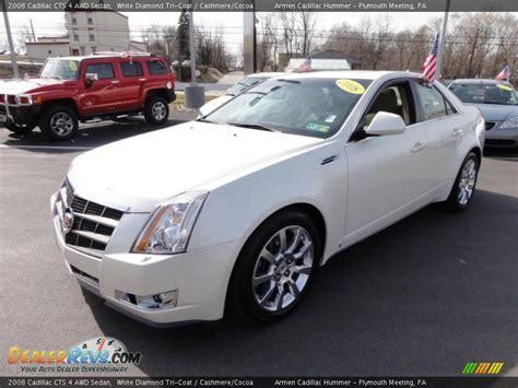 2008 Cadillac Cts Awd by 2008 Cadillac Cts 4 Awd Sedan White Tri Coat