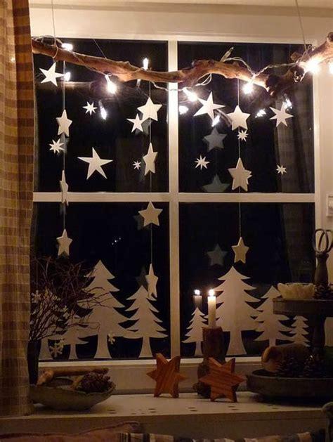 Fensterdekoration Weihnachten 40 stunning window decorations ideas all
