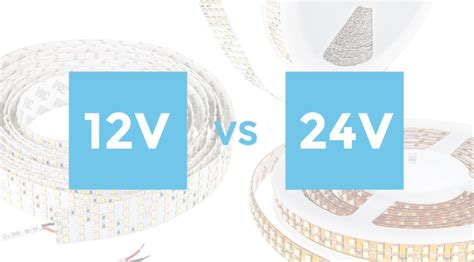 difference between l and light 12 volt vs 24 volt led strip lights what 39 s the