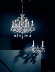 Lustre Cristal Moderne : candelabre lustre de cristal clasice candelabre lustre de cristal moderne si vanzari ~ Teatrodelosmanantiales.com Idées de Décoration