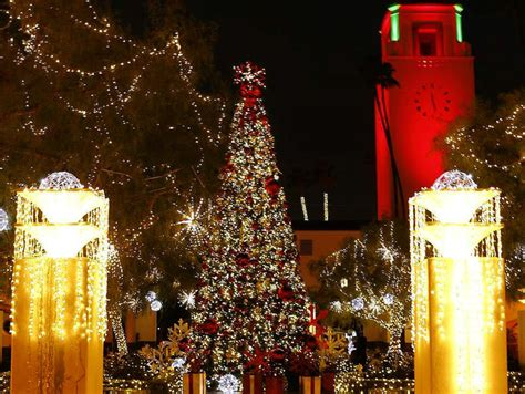 the best holiday lights in los angeles discover los angeles