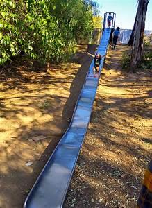 Fun Giant Slides at Santiago Park Nature Preserve in Santa ...