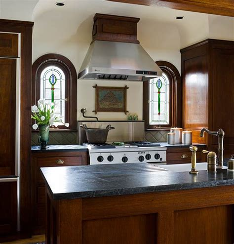 kitchen paint colors with mahogany cabinets kitchens with warm wood cabinets traditional home 9512