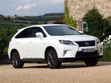 lexus rx hybrid     car review