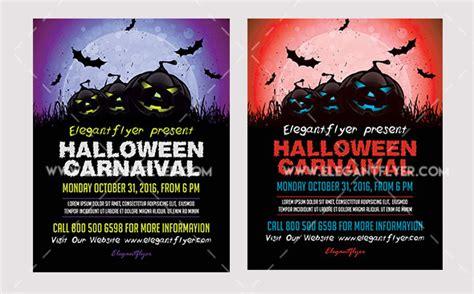 Halloween Flyer Template Psd Costumepartyrun