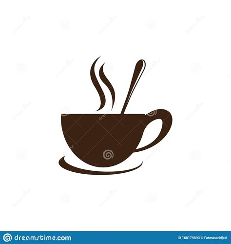 Download a free preview or high quality adobe illustrator ai, eps, pdf and high resolution jpeg versions. Coffee Cup Logo Vector Icon Stock Vector - Illustration of dinner, cafe: 168179893
