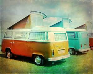 Vintage VW Van Art