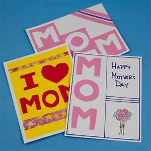 how to make easy homemade mothers day cards - craftshady ...