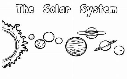 Solar Coloring System Pages Planets Planet Printable