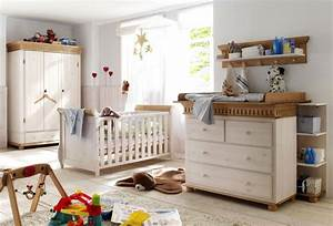 Babybett Holz Weiß : massivholz babyzimmer set komplett paul kiefer massiv holz ~ Whattoseeinmadrid.com Haus und Dekorationen