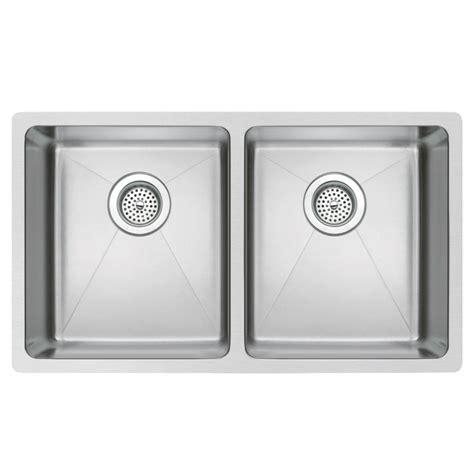 kitchen sink finishes water creation undermount small radius stainless steel 31 2707